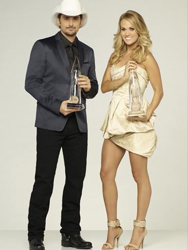 """CARRIE UNDERWOOD AND BRAD PAISLEY RETURN TO HOST """"THE 49th ANNUAL CMA AWARDS"""""""