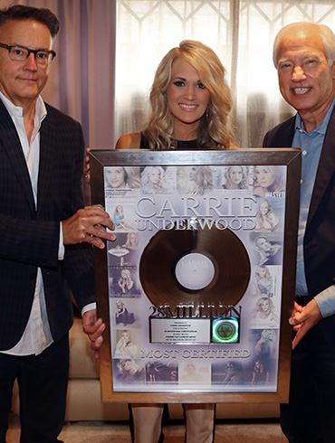 Carrie Underwood Becomes the Current Top Country Artist on RIAA's Digital Single Ranking