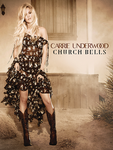 """Carrie Underwood's """"Church Bells"""" Is Most-Added As It Officially Impacts Country Radio With 114 Stations On!"""