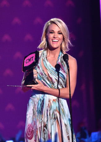 """CARRIE UNDERWOOD OWNED THE NIGHT AT """"2016 CMT MUSIC AWARDS"""""""