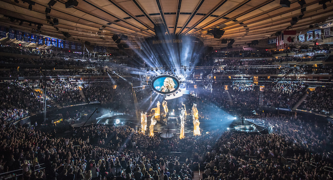 Merveilleux CARRIE SELLS OUT WORLDu0027S MOST FAMOUS ARENA MADISON SQUARE GARDEN