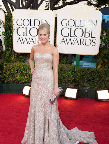 Carrie to Present at The Golden Globe® Awards This Sunday, January 8