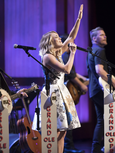CARRIE CELEBRATES 100TH  GRAND OLE OPRY APPEARANCE