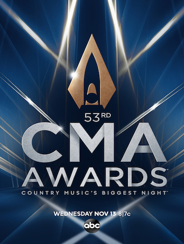"""CARRIE TO HOST """"THE 53RD ANNUAL CMA AWARDS""""  WITH SPECIAL GUEST HOSTS REBA McENTIRE AND DOLLY PARTON, CELEBRATING LEGENDARY WOMEN IN COUNTRY MUSIC"""